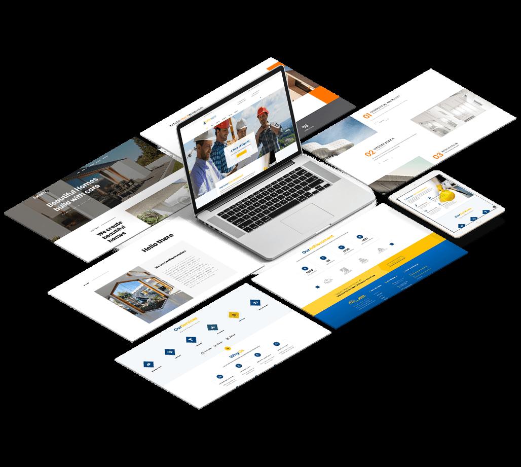 Website Development by Construction Marketing Gurus