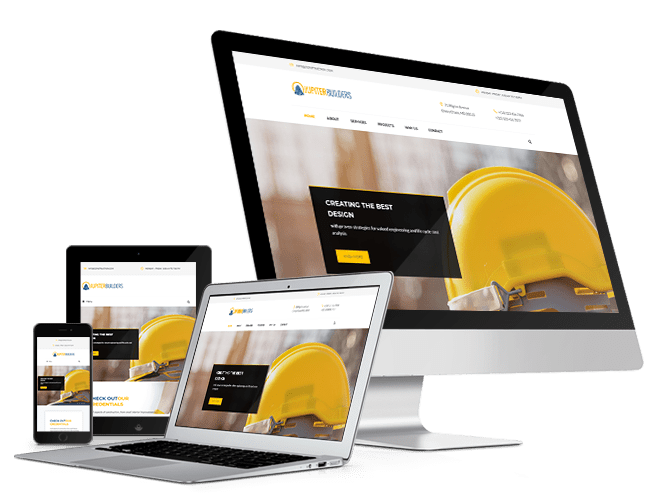 Construction Marketing Gurus Responsive website design