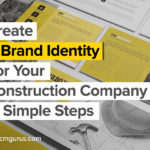 create a brand identity for your construction company