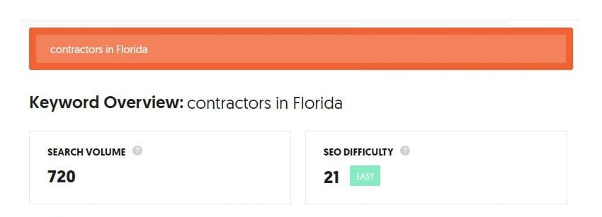 A guide to SEO-friendly content - keyword overview